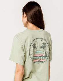 HURLEY Sun Stripes Womens Tee_