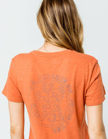 RVCA Floral Seal Womens Baby Tee_