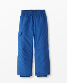 Hanna Andersson Insulated Snow Pants in Baltic Blu