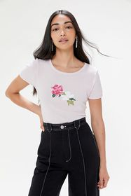 Truly Madly Deeply Floral Baby Tee