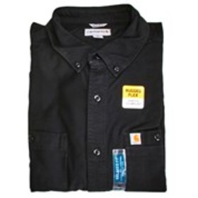 CARHARTT Mens Relaxed Fit Stretch Solid Black Long