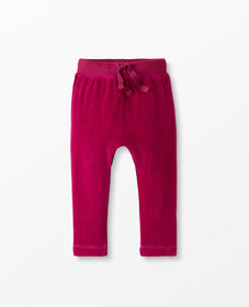 Hanna Andersson Soft Velour Pants in Mulberry - ma