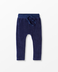 Hanna Andersson Soft Velour Pants in Navy - main