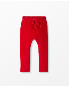 Hanna Andersson Soft Velour Pants in Hanna Red - m