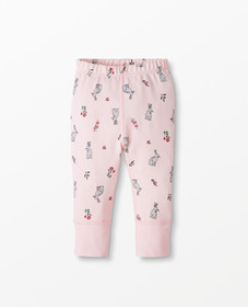 Hanna Andersson Pants In Organic Cotton in Bunny B