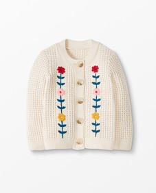 Hanna Andersson Fable Cardigan in Ecru - main