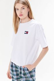 Tommy Jeans Embroidered Badge Logo Tee