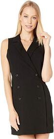 BCBGeneration Button Front Tuxedo Dress GEF6229545