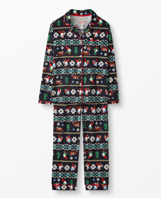 Hanna Andersson Women's PJ Set In Pima Cotton in G