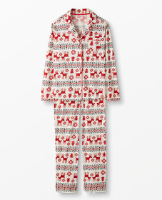 Hanna Andersson Women's PJ Set In Pima Cotton in D