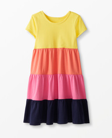 Hanna Andersson Twirl Power Dress in Swedish Yello
