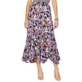 "Antthony ""Luscious Knit"" Printed Full Circle Skirt"