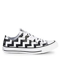 Converse Women's Chevron Low-Top Sneakers WHITE BL