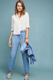 Anthropologie Cloth & Stone Jetsetter Chambray Pan