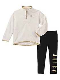 Juicy Couture Little Girl's 2-Piece Pullover Sweat