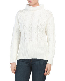 VINCE CAMUTO Cable Knit Sweater
