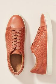 Anthropologie Frye Ivy Leather Sneakers
