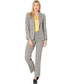 Tahari by ASL One-Button Jacket & Trousers Set