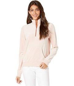 Juicy Couture Luxe Velour 1\u002F2 Zip Track Pullo