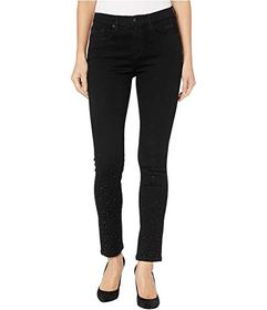 Juicy Couture Crystal Embellished Skinny Jeans