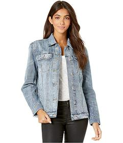 Juicy Couture Crystal Embellished Denim Jacket
