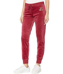 Juicy Couture Dripping Juicy Sequin Velour Zuma Pa
