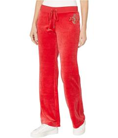 Juicy Couture Juicy Anchor Velour Del Rey Pants