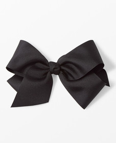 Hanna Andersson Really Big Ribbon Bow Clip in Blac