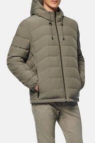 Andrew Marc Claxton Packable Hooded Jacket