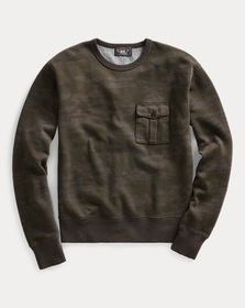 Ralph Lauren Camo Fleece Sweatshirt