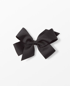 Hanna Andersson Ribbon Bow Clip in Black - main