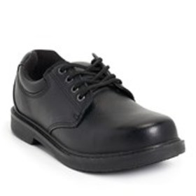 Mens Wide Width Leather Work Shoes