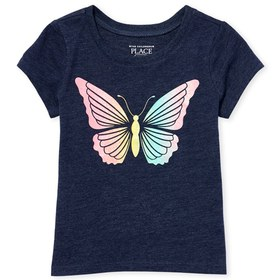 Baby And Toddler Girls Glitter Rainbow Butterfly G