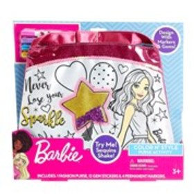 BARBIE Barbie Color n' Style Purse Activity Set