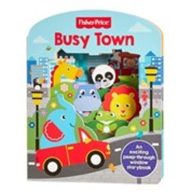 FISHER PRICE Busy Town Peep-Through Window Board B