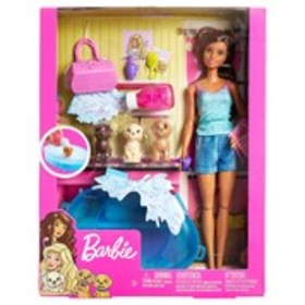 BARBIE Barbie Puppy Bath Doll Set