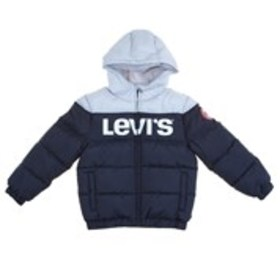 LEVI'S Boys Hooded Color Block Puffer Coat (8-20)