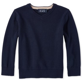 Baby And Toddler Boys Matching V Neck Sweater