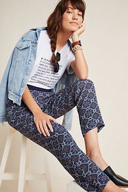 Anthropologie Londoner Abstract Pants