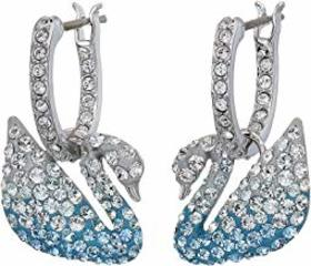 Swarovski Iconic Swan Pierced Earrings