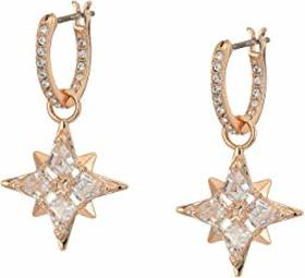 Swarovski Symbolic Protection Star Mini Hoop Pierc