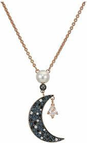 Swarovski Symbolic Moon & Star Pendant Necklace