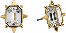 Swarovski Tarot Magic Cushion Stud Pierced Earring
