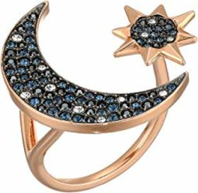 Swarovski Symbolic Moon & Star Ring