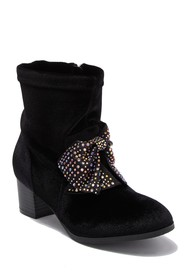 Jessica Simpson Crystal Bow Boot (Toddler