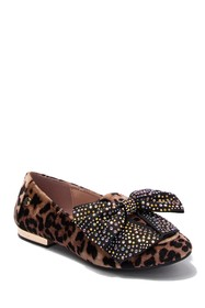Jessica Simpson Crystal Bow Flat (Toddler
