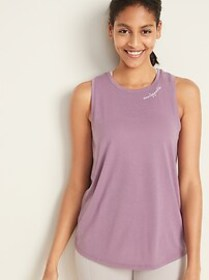 Graphic Muscle Tank for Women