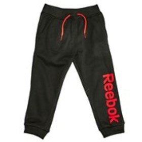 REEBOK Boys Textured Logo Graphic Active Joggers (