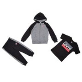 LEVI'S Boys Logo Hoodie, T-Shirt and Joggers Set (
