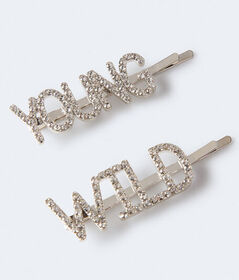 Aeropostale Young & Wild Hair Slide 2-Pack